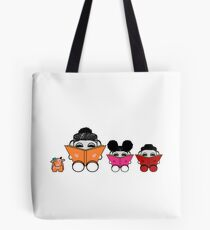 Reading is a Family Affair: The Yum O'BABYBOT Toy Robots 1.0 Tote Bag