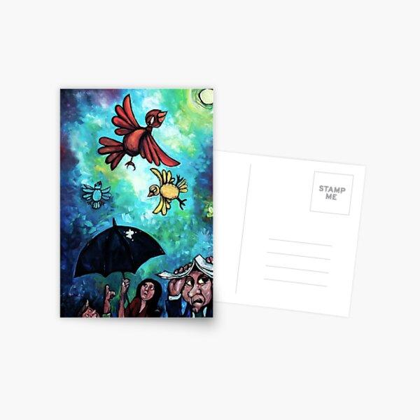"""Birdies"" by Chad Elliott Postcard"