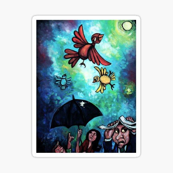 """""""Birdies"""" by Chad Elliott Sticker"""