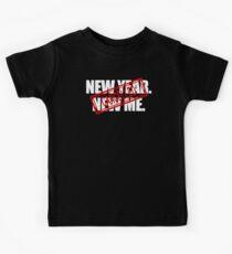 Neues Jahr, neues Ich Kinder T-Shirt
