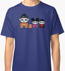 Yum Family: Nom, Jo, Coop & Free O'BABYBOT Toy Robot Classic T-Shirt