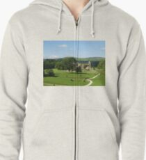 Bolton Abbey, Wharfedale, N. Yorkshire Zipped Hoodie