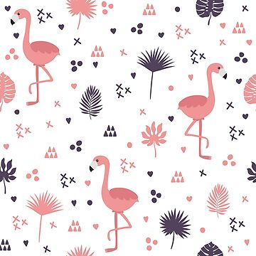Scandanavian Flamingos by SandiTyche