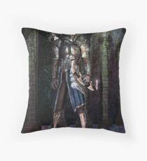 The Dark Assassin  Throw Pillow