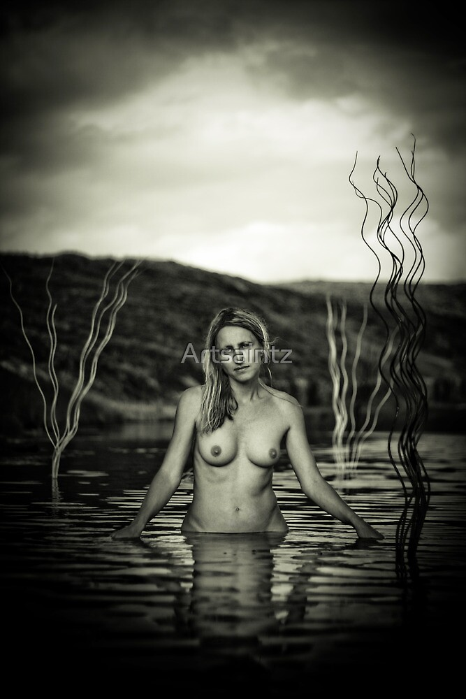 Lady of the lake by Artsaintz