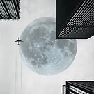 Surreal Urban Moon by The Aloof
