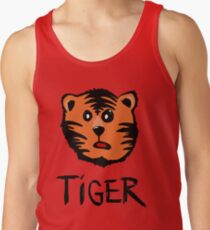 Cute tiger Tank Top