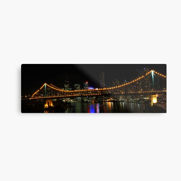 Brisbane and the Story Bridge Metal Print