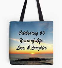 JOYFUL 60TH CELEBRATION Tote Bag