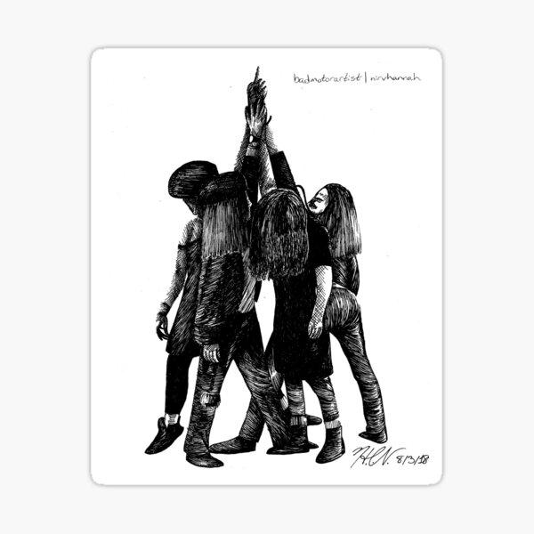 Pearl Jam Ten Parody Sticker