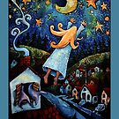 """""""Dream of Flying"""" Poster, Card and Notebook by Wildermans"""