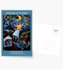 """""""Dream of Flying"""" Poster, Card and Notebook Postcards"""