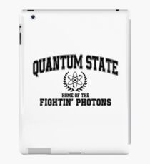 Quantum State, Home of the Fightin' Photons iPad Case/Skin