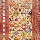 Tribal Persian Qashqai Antique Rug by Vicky Brago-Mitchell