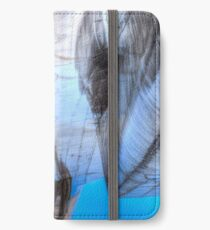 Concorde Abstract Étui portefeuille/coque/skin iPhone