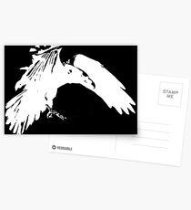 Corvidae Logo Postcards