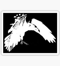 Corvidae Logo Sticker