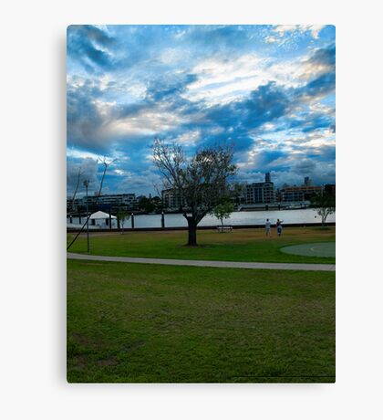 Hawthorne Tree Canvas Print