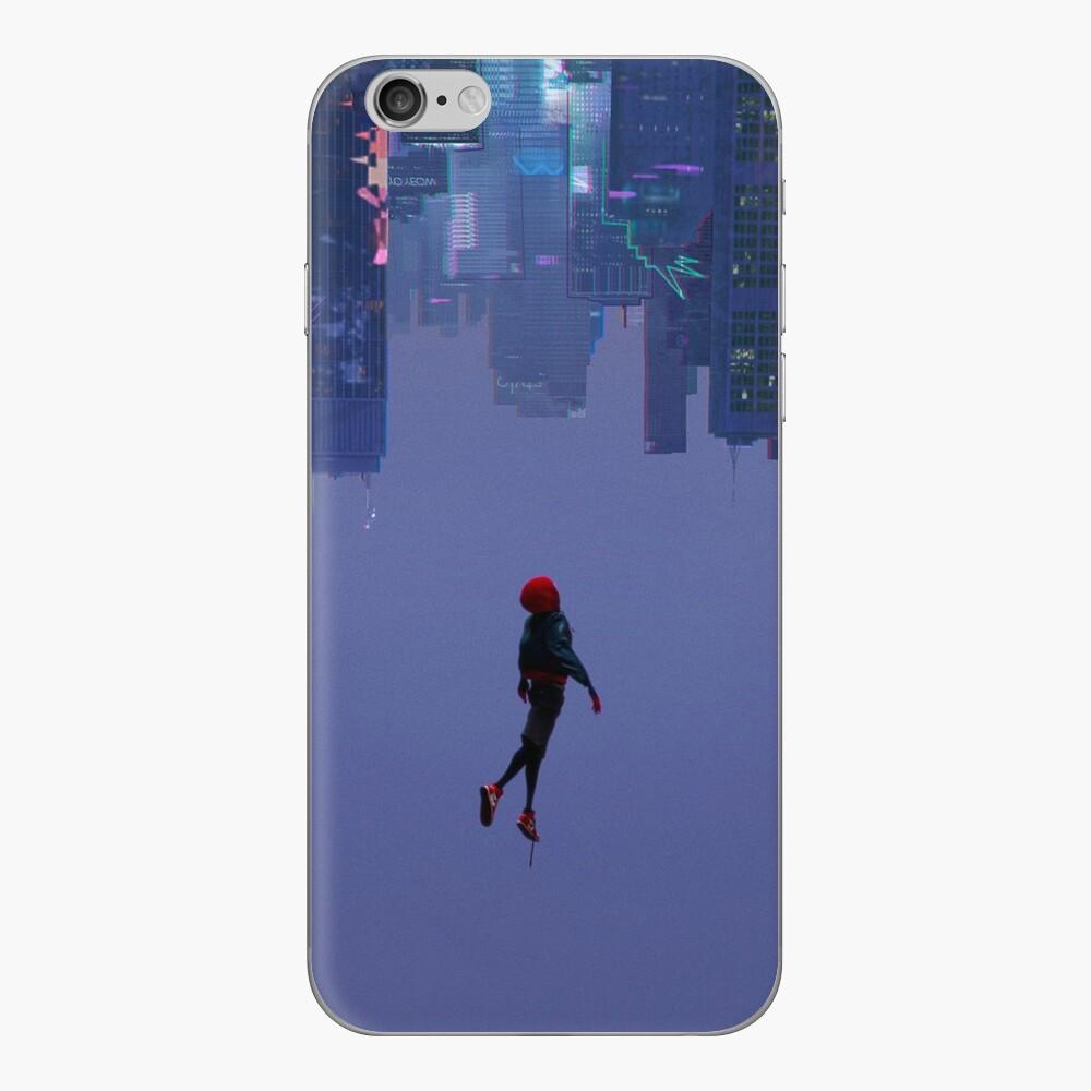 In die Spiderverse Phone-Hülle iPhone Klebefolie
