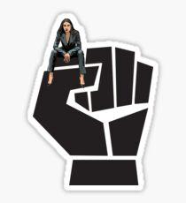 Alexandria ocasio Cortez bronx women Sticker