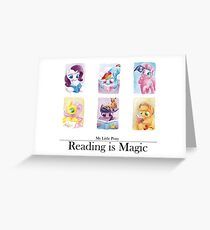 Reading is magic Greeting Card
