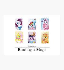 Reading is magic Photographic Print