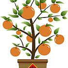 Lucky Orange Tree by Julia2Julia