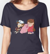 Gravity Falls - Simple Women's Relaxed Fit T-Shirt