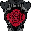 Charred Bones - Rose by Violetpool