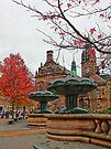 Sheffield Town Hall and Peace Gardens by Dorothy Berry-Lound