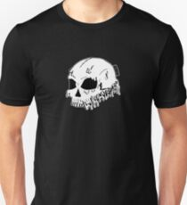 Dripping With Sarcasm - White Skull Unisex T-Shirt