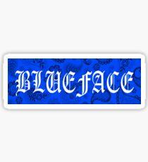Blueface Box Logo Sticker