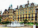 Sheffield Town Hall 1 by Dorothy Berry-Lound