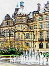 Sheffield Town Hall 2 by Dorothy Berry-Lound