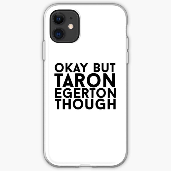 Taron Egerton iPhone Soft Case