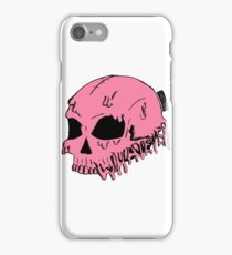 Dripping With Sarcasm - Pink Skull iPhone Case/Skin