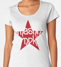 smashing pumpkins red star Premium Scoop T-Shirt