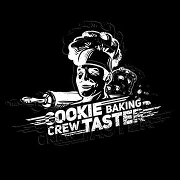 Cookie Tester Baking Baker Cake Cookie Gift by Netsrikfa