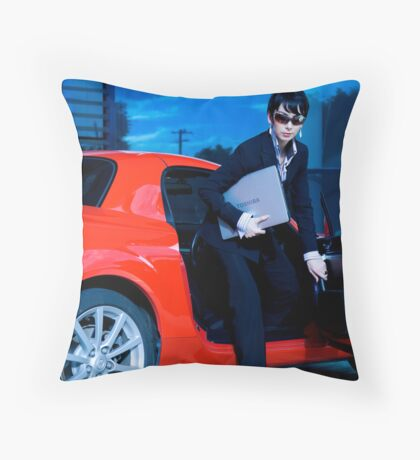 the duality of sunday #1 Throw Pillow