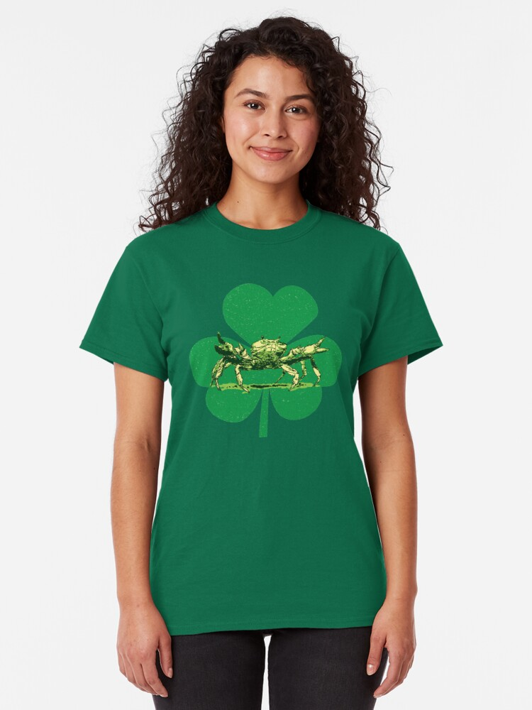 Alternate view of A Pinch o' Green Classic T-Shirt
