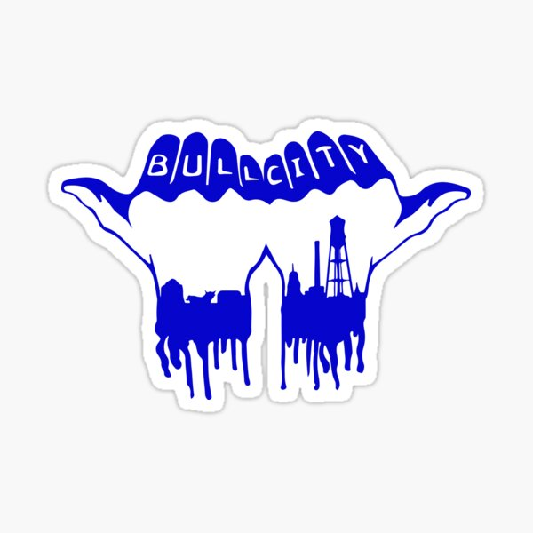Bull City- DurhamNC Sticker