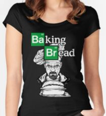 Baking Bread Women's Fitted Scoop T-Shirt