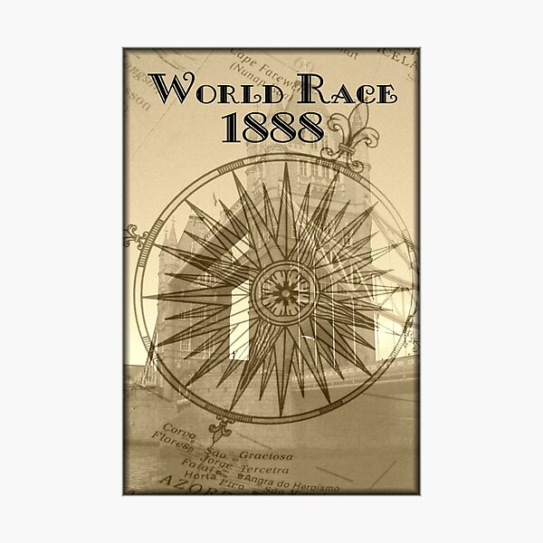 World Race 1888 Photographic Print