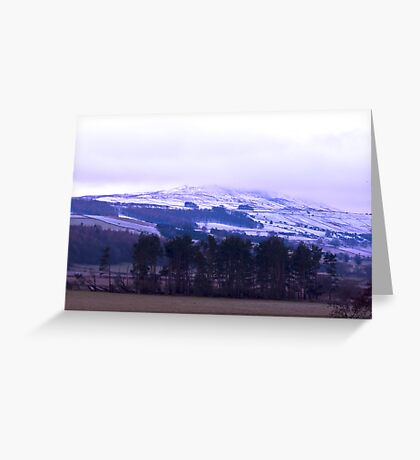 Coisterdale Moor Greeting Card