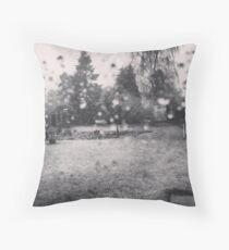 Spring Sleet Throw Pillow