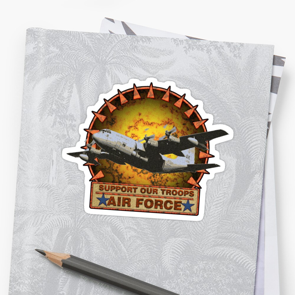 Air Force Cargo- Support Our Troops by drasel