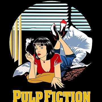 Pulp Fiction - Mia Circular Variant by Purakushi