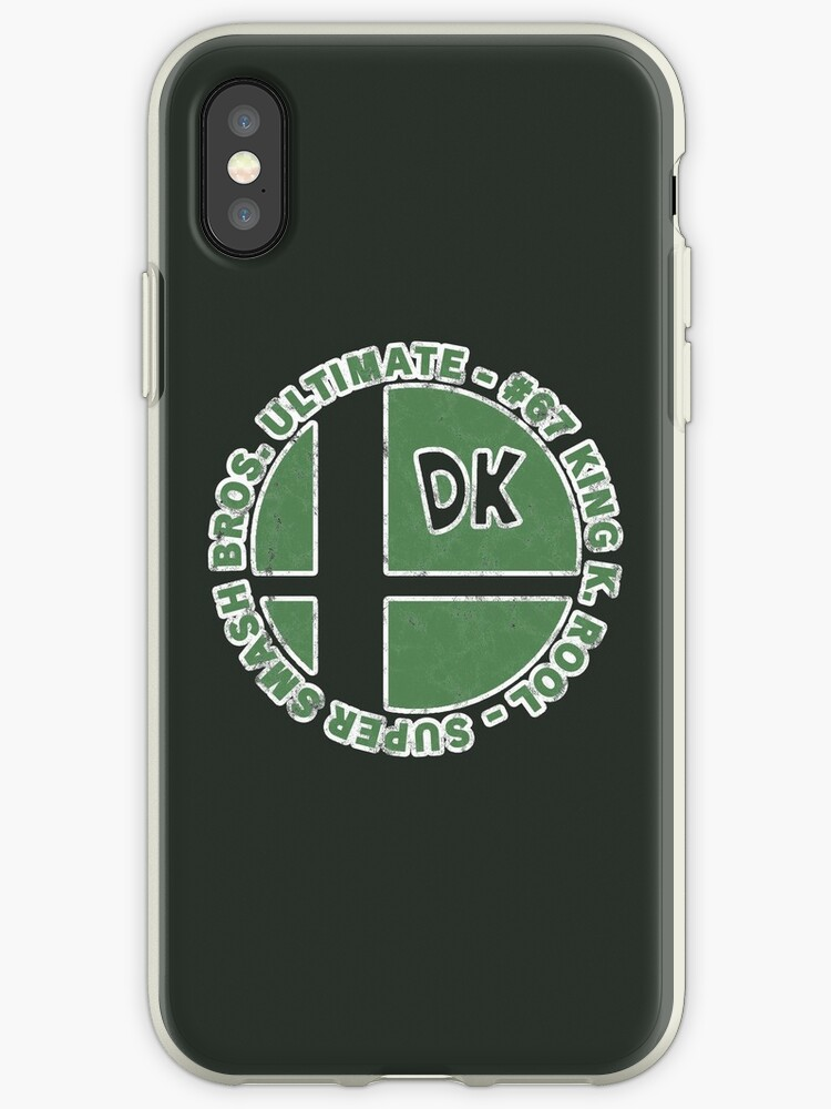 Donkey Kong SSB Super Smash Brothers iphone case