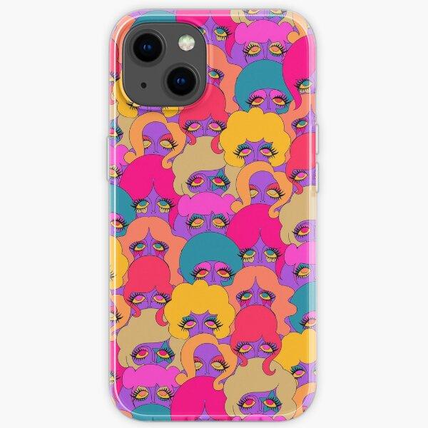 Colorful Ladies iPhone Soft Case