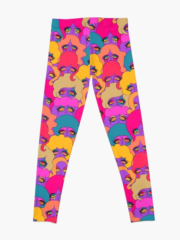 Alternate view of Colorful Ladies Leggings